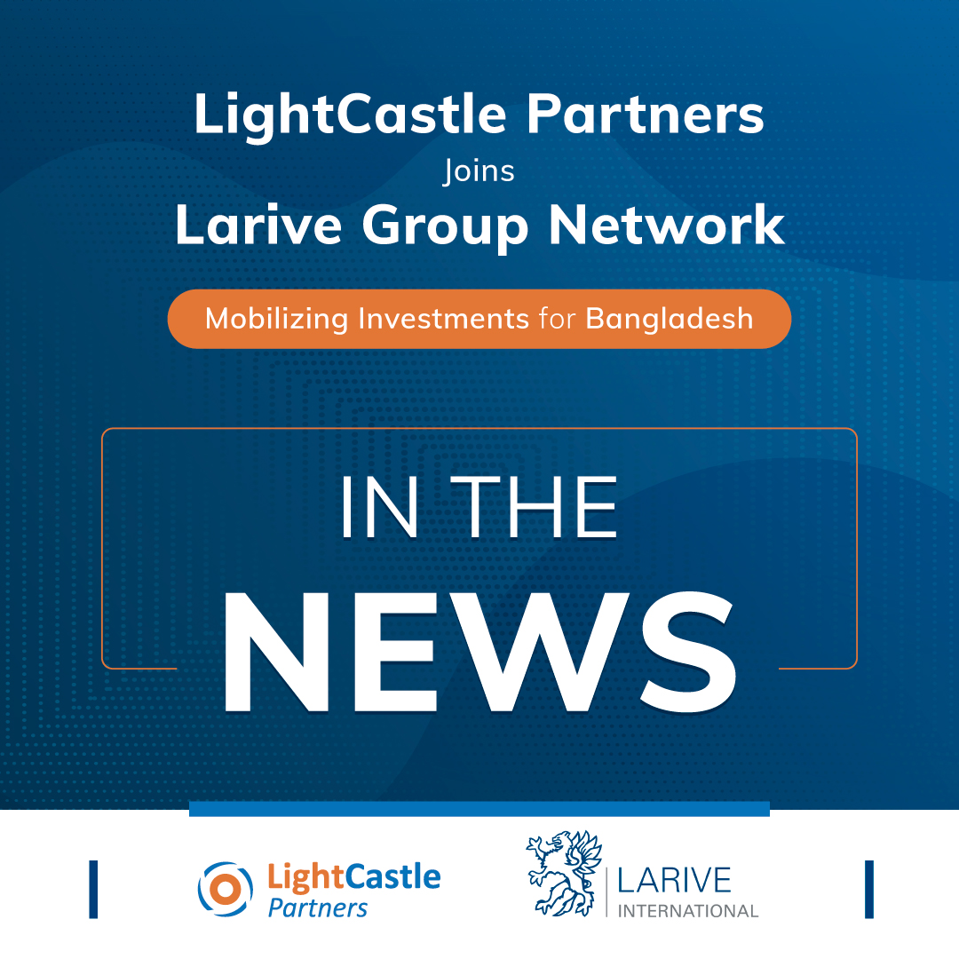 LightCastle x Larive International - In the News