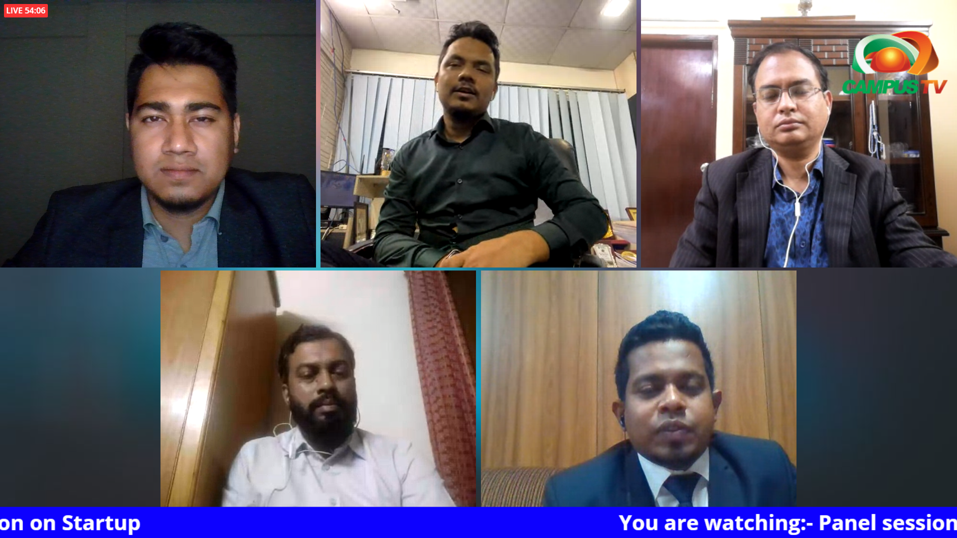 """Mehad ul Haque joins Panel Discussion, """"Startup Eco-System of Bangladesh & Why Startups are the solution of an Economy?"""""""