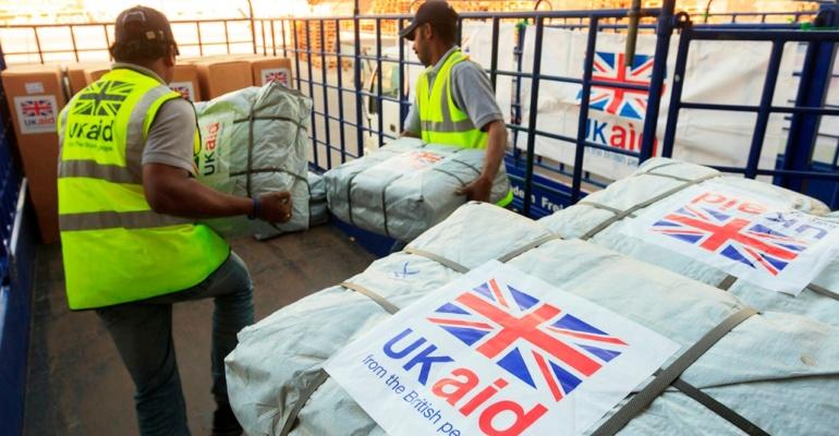 Development aid image