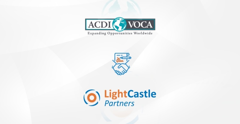 LightCastle signs Contract with ACDI/VOCA